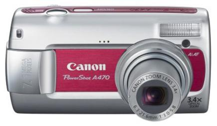 Photo of Canon PowerShot A470 Camera: Review