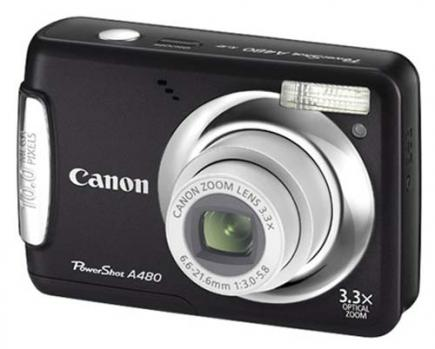 Photo of Canon PowerShot A480 Camera: Review