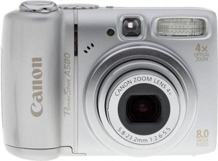 Photo of Canon PowerShot A580 Camera: Review