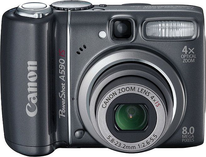 Photo of Canon PowerShot A590 IS Camera: Review