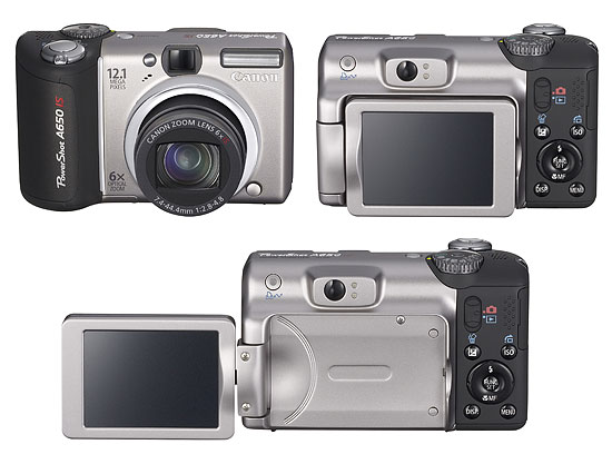 Canon PowerShot A650IS