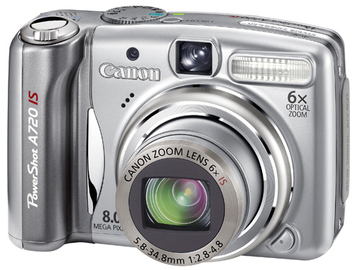 Photo of Canon PowerShot A720IS Camera Review