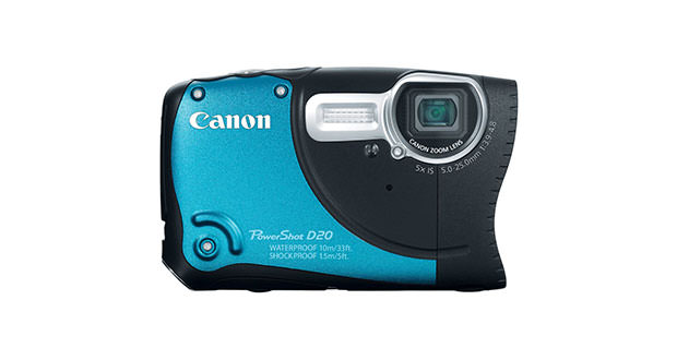 Photo of Canon PowerShot D20 Camera: Review
