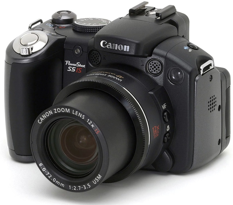 Photo of Canon PowerShot Pro Series S5 IS Camera: Review