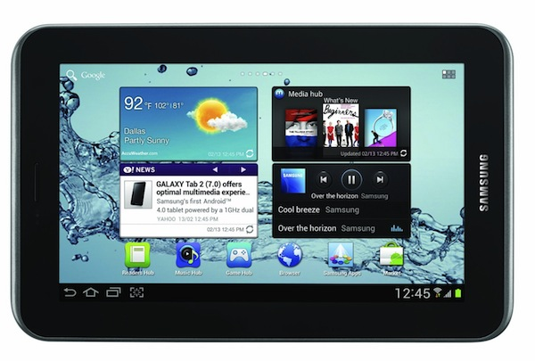 Photo of Samsung Galaxy Tab 2 7.0: Review