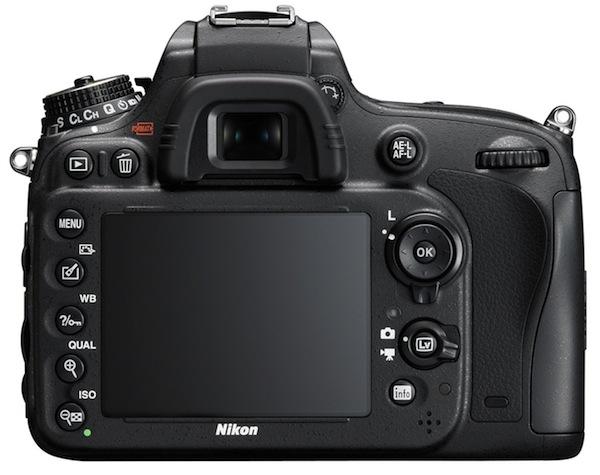 Canon D600 - Rear