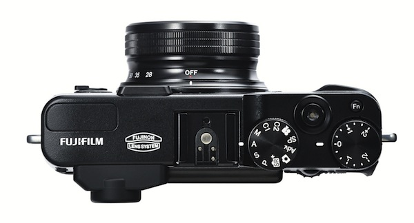 Fujifilm FinePix X20 - Top