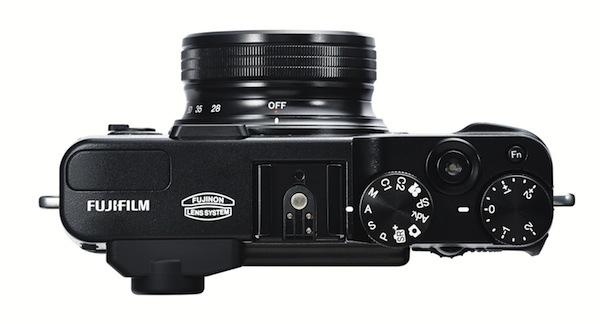 Fujifilm FinePix X20 - Top