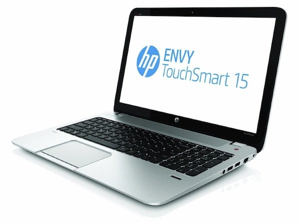 HP ENVY TouchSmart 15 - Front
