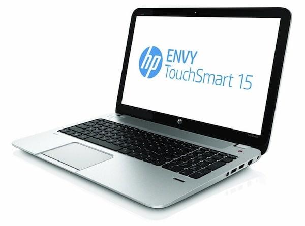 HP ENVY TouchSmart 15 - Front