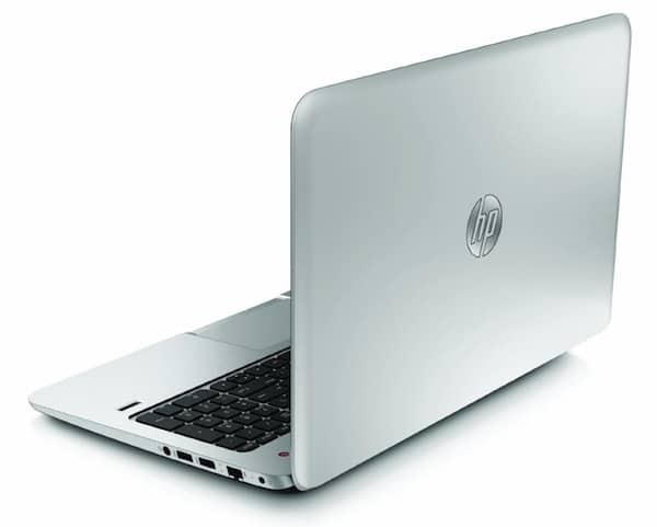HP ENVY TouchSmart 15 - Side