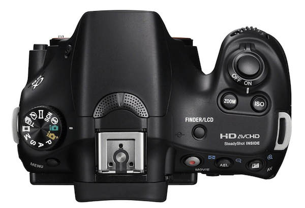 Sony A58 -Top