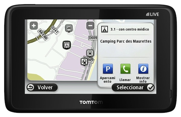 Photo of TomTom GO LIVE Camper and Caravan