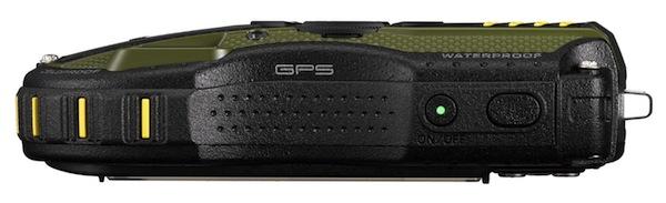Pentax WG-3 GPS-top