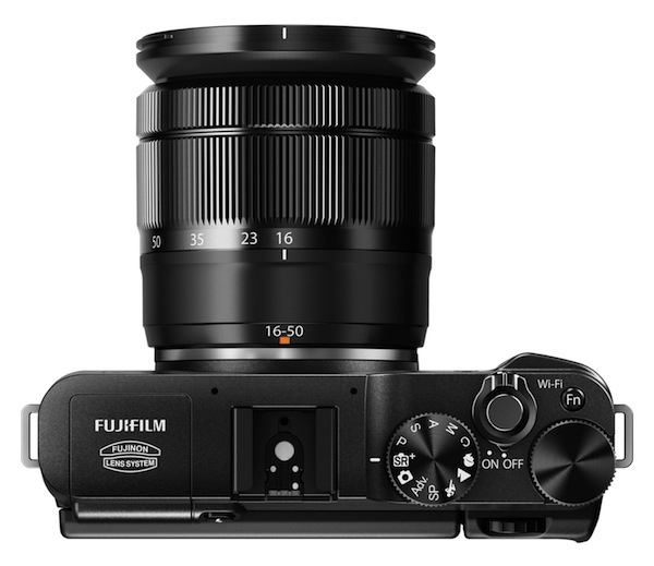 Fujifilm X-A1-top