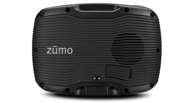 Garmin Zumo 390LM - Back
