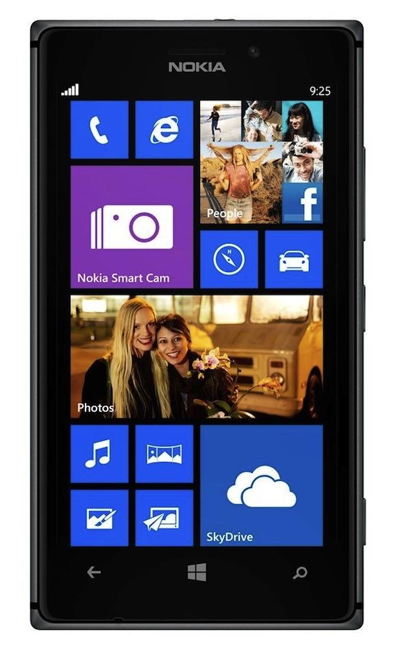 Nokia Lumia 925 - Front