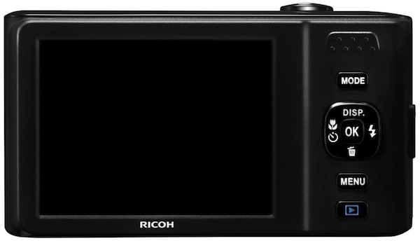 Ricoh HZ15 - Rear