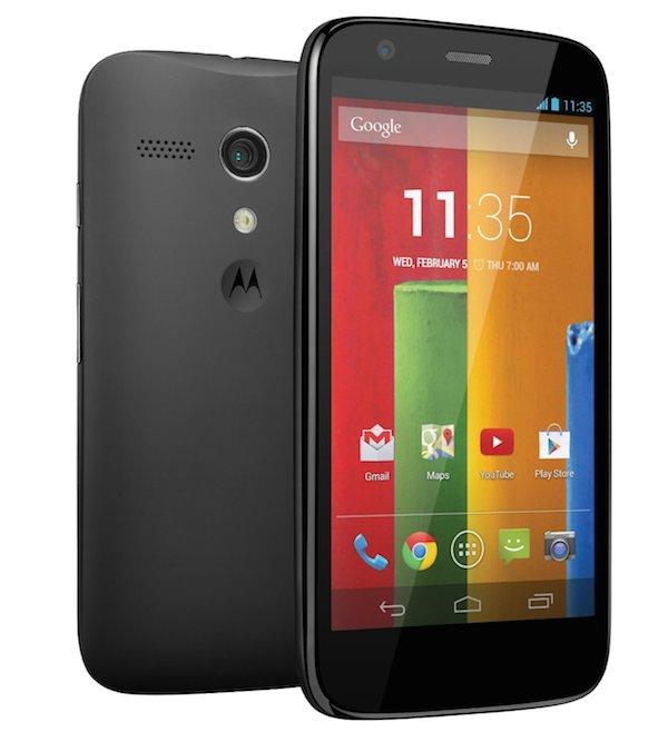 Motorola Moto G - Design