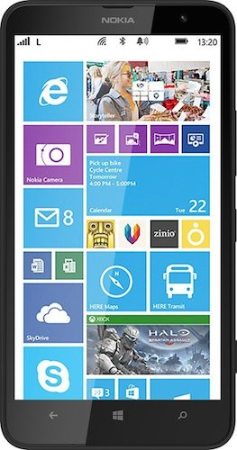 Nokia Lumia 1320 - Design