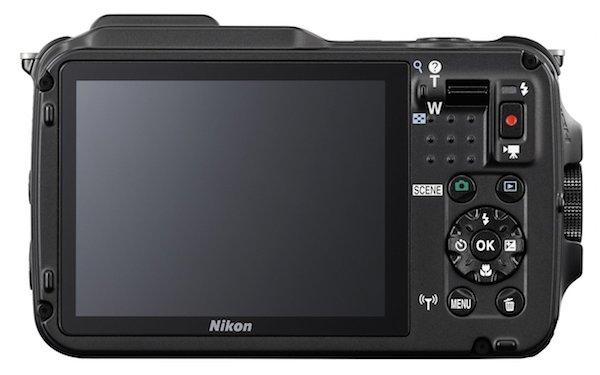 Nikon COOLPIX AW120-Rear