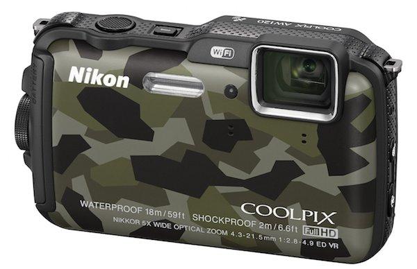 Nikon COOLPIX AW120-front