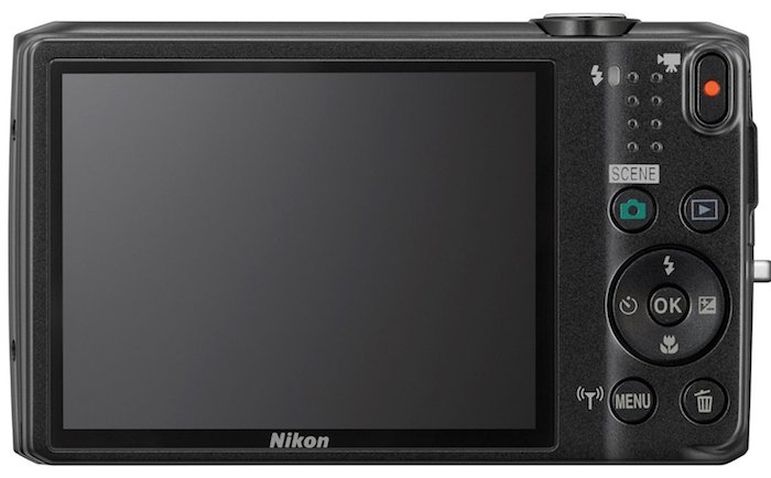 Nikon COOLPIX S6800 - Rear