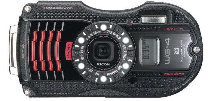 Photo of Ricoh WG-4 GPS Waterproof Digital Camera – Review