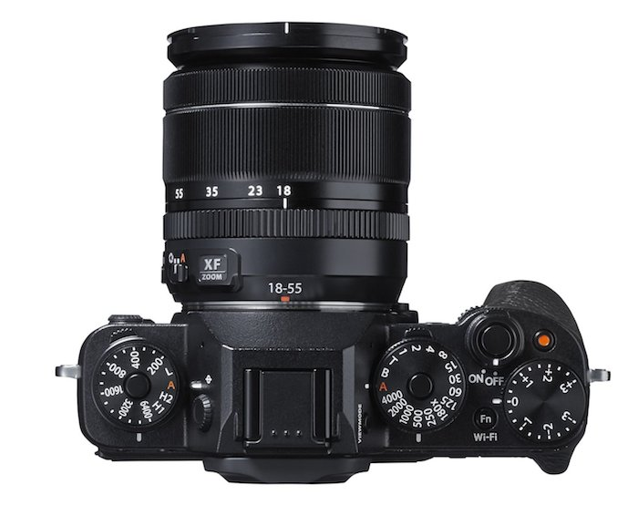 Fujifilm X-T1-Top