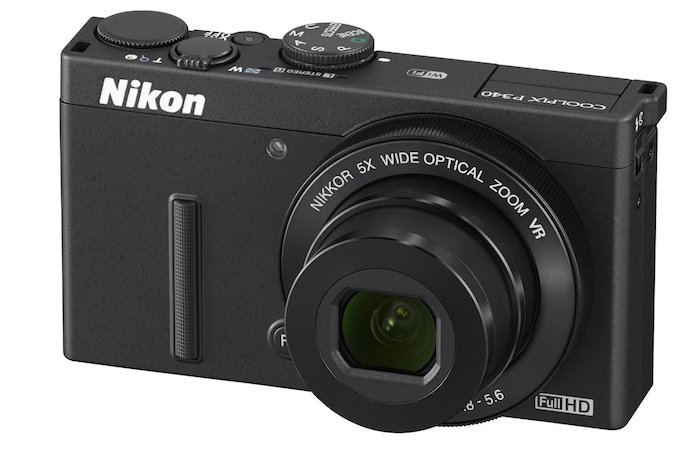 Nikon Coolpix P340-front