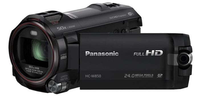 Photo of Panasonic HC-W850 – The Camcorder for Selfie