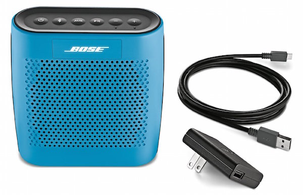 Bose SoundLink Color Bluetooth Speaker with Cables