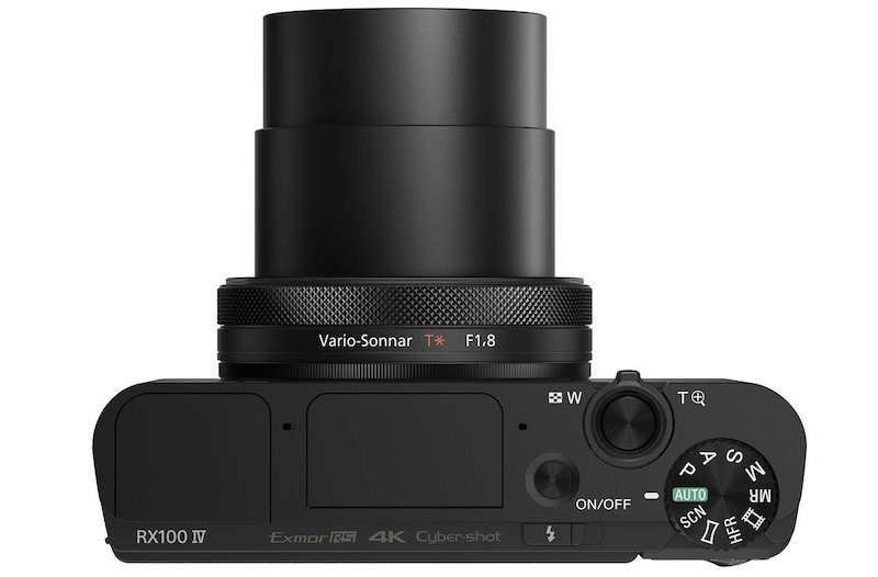 Sony RX100 IV - Top