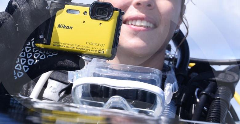 Waterproof Compact Camera
