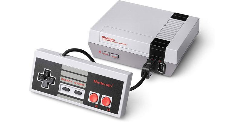 mini-retro game console