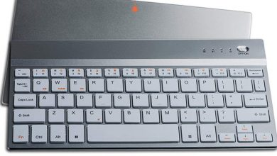 Rechargeable wireless keyboard