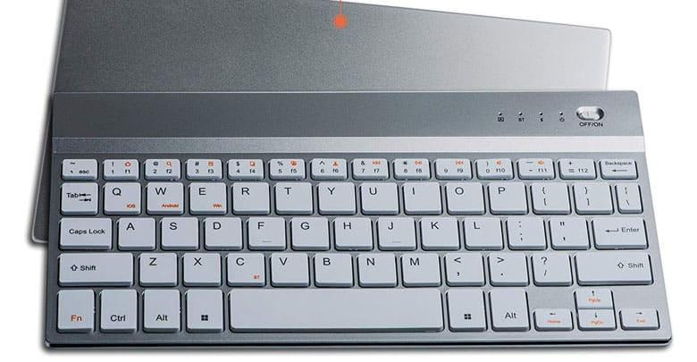 Rechargeable wireless keyboard